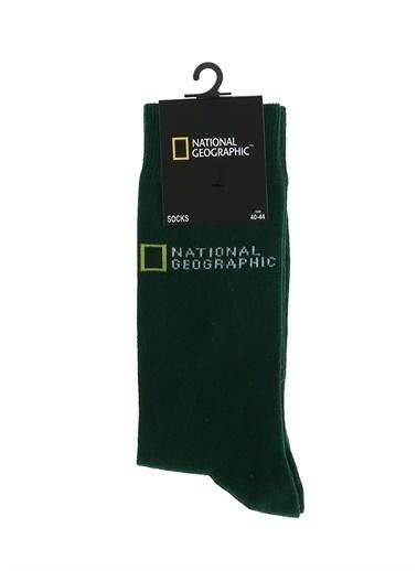 National Geographic National Geographic Çorap Yeşil